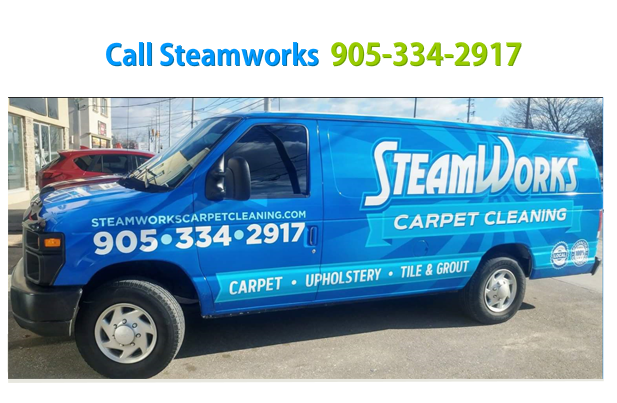 Steamworks Carpet Cleaning And Tile Cleaning In Oakville