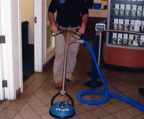 SteamWorks tile and carpet cleaning guarantee